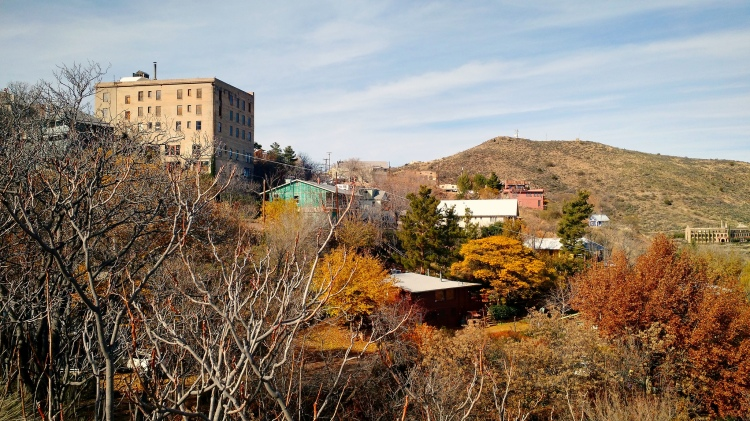 Autumn in Jerome, Arizona