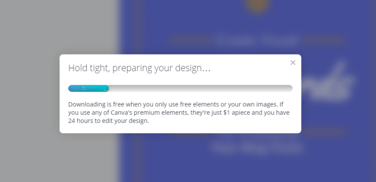 Canva Free Instagram Blog Post Promotion